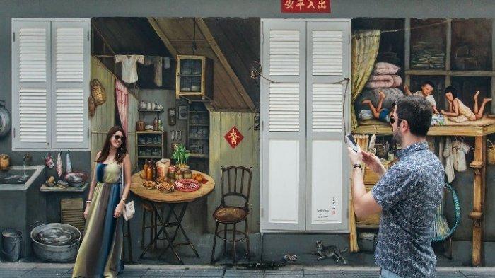 Mural My Chinatown Home Mural