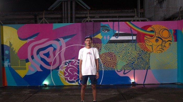 Mural Under the Same Sun karya Stereflow di M Bloc Space