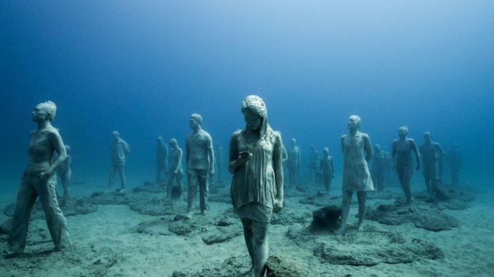 Mengenal Lebih Dekat Museo Atlantico, Museum Paling Berbahaya di Dunia yang Berada di Bawah Air