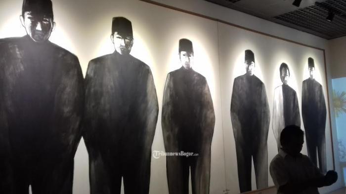 Museum Kepresidenan Bogor Oh Ternyata Ini Arti Lukisan Hitam