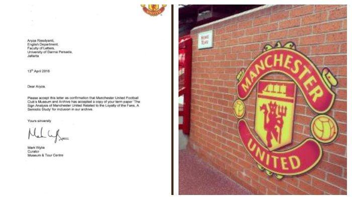 Viral di Medsos, Museum Manchester United Simpan Skripsi Mahasiswi Indonesia