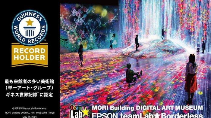 Museum Seni Digital Gedung Mori: Epson teamLab Borderless