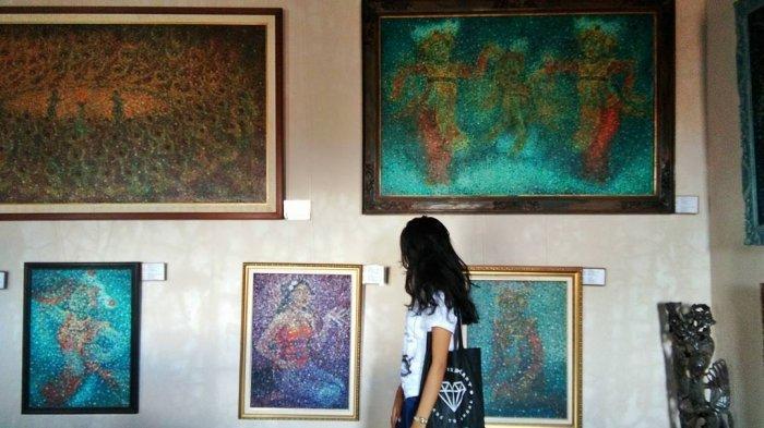Museum Lukisan Sidik Jari, Museum Unik di Bali yang Sajikan 666 Karya I Gusti Ngurah Gede Pemecutan