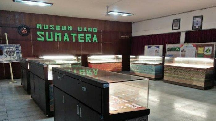 Museum Uang Sumatera yang berada di Gedung Juang 45 Kota Medan, Jumat (20/11/2020).