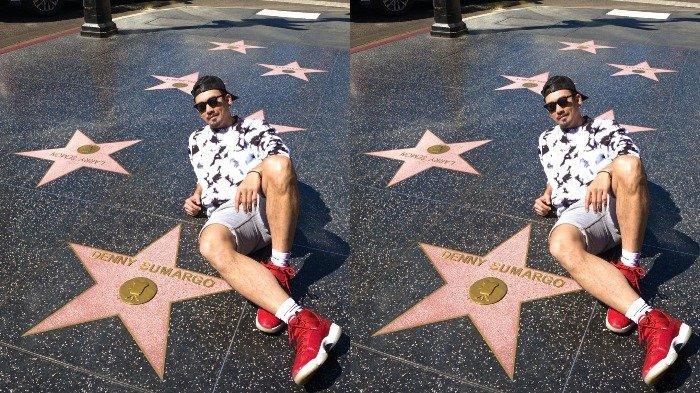 Denny Sumargo Pamer Namanya Mejeng di Hollywood Walk of Fame, Kok Bisa?