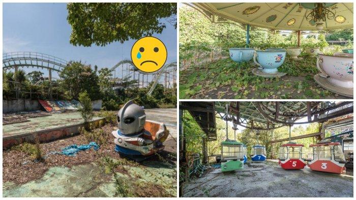 Taman Hiburan di Jepang Ini Dulunya Penuh Kesenangan dan Tawa, Sekarang Ditinggal dan Dihancurkan