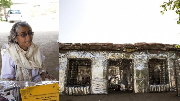 Menilik Kisah Ispiratif Wanita Pakistan, Sulap 12.000 Ton Sampah Jadi Rumah hingga Perabotan
