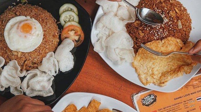 Kedai Nasi Goreng Dunia Bandung, Tawarkan Citarasa Nasi Goreng dari Berbagai Negara di Bumi Pasundan