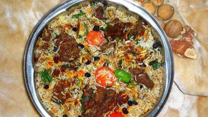 Nasi biryani, satu nasi khas India untuk menu buka puasa