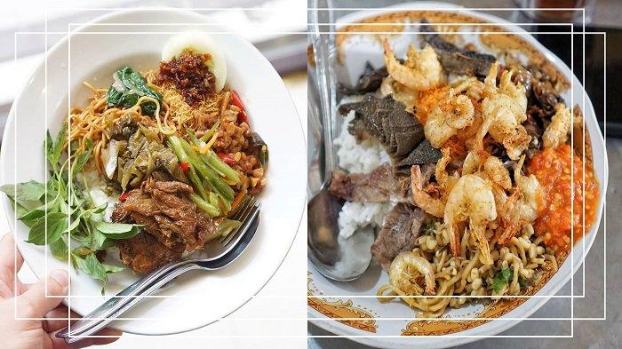 Kuliner Murah Surabaya - Harga di Bawah Rp 30 Ribu Kamu Bisa Makan Kenyang dengan Nasi Campur Empal