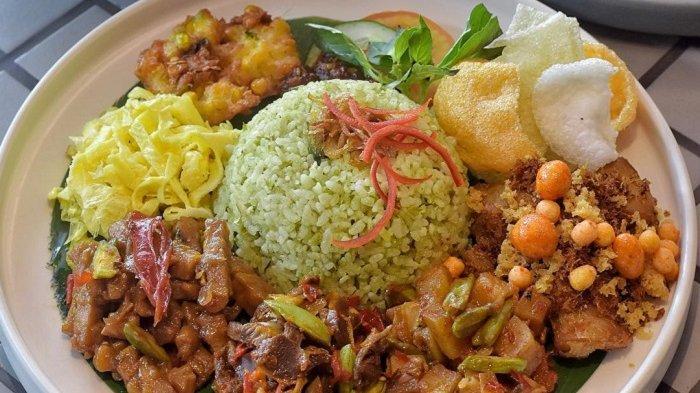 7 Kuliner Khas Sukabumi Cocok Jadi Menu Sarapan, Cicipi Nasi Uduk Ungu hingga Nasi Hijau