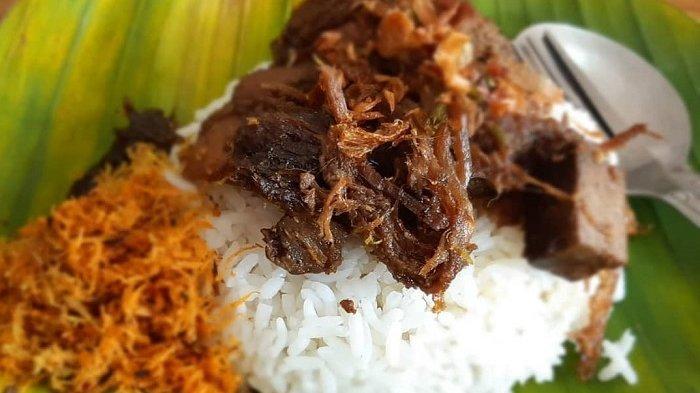 Nasi krawu, kuliner khas Gresik