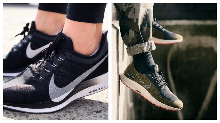 timeless design cc25c 2c300 Nike Rilis Air Zoom Pegasus 35 dan Odyssey React Shield, Sepatu Lari yang  Nyaman ketika