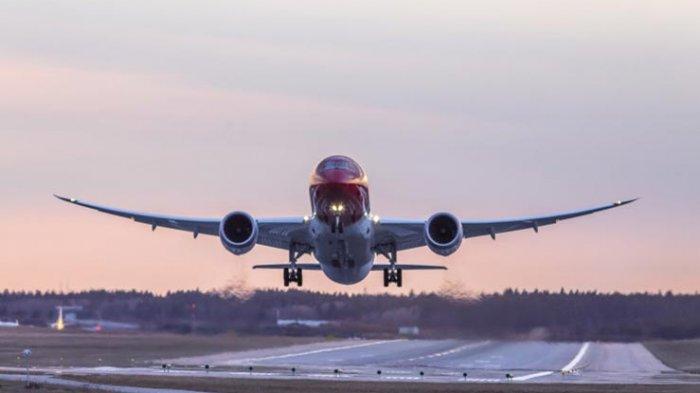 Ilustrasi - pesawat berjenis Boeing 787-9 Dreamliner
