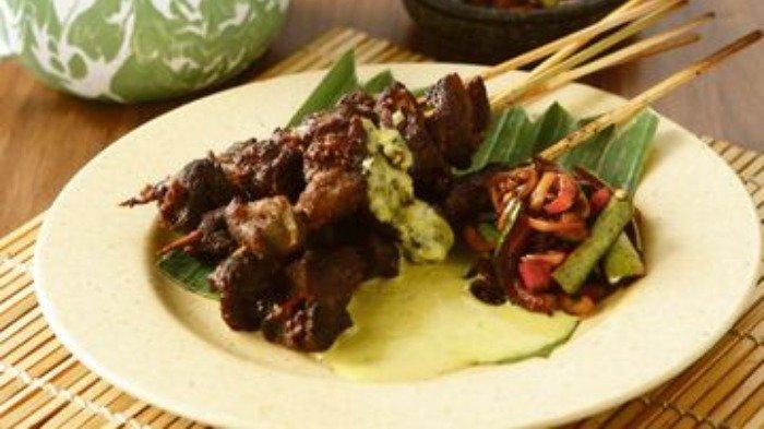 Olah daging kambing Idul Adha 2020 dengan resep sate kambing Wonogiri, Selasa (21/7/2020).