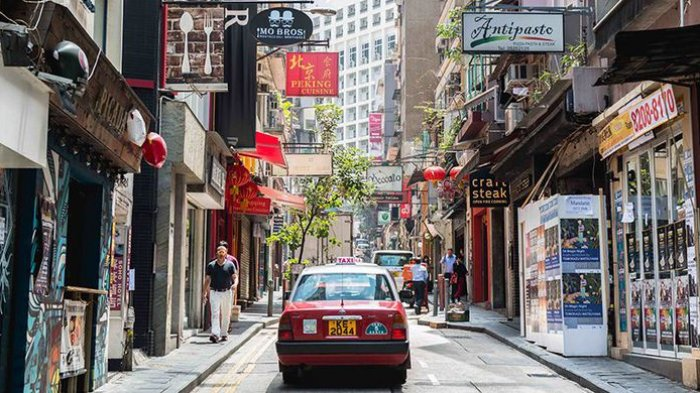 Old Town Central di Hongkong.