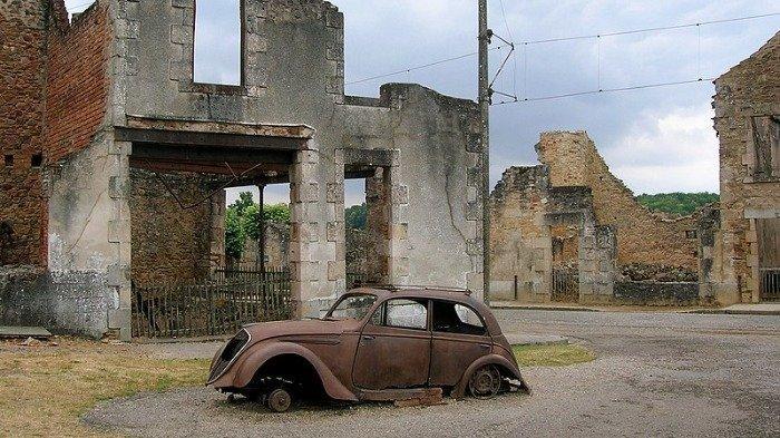 Oradour-Sur Glane di Prancis