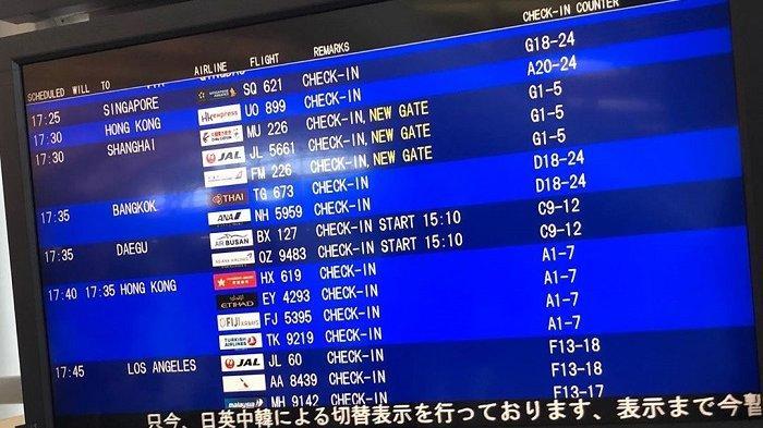 Daftar Tiket Pesawat Murah Ke Osaka Penerbangan Dari Bandara Soekarno Hatta Tribun Travel