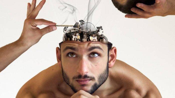 Ilustrasi seseorang mengalami penurunan daya ingat akibat kekurangan yodium