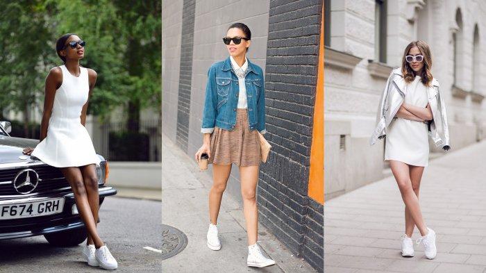 11 Kombinasi Dress dan Sneaker yang Buat Penampilan Semakin Stylish, Cocok Dipakai Saat Traveling
