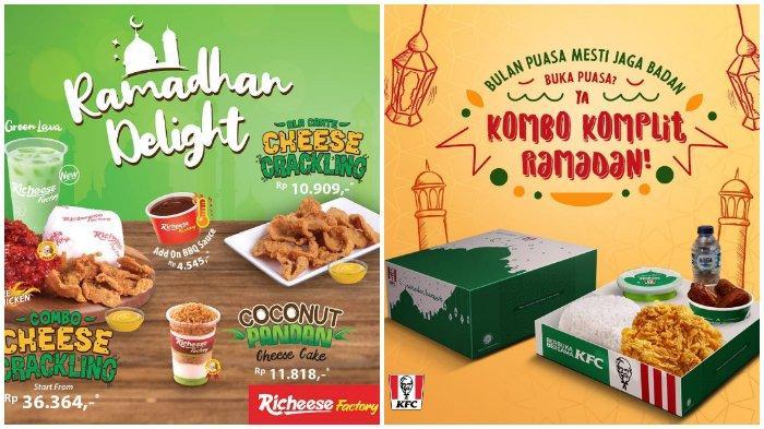 Rekomendasi Paket Bukber di 5 Restoran Cepat Saji selama Ramadan