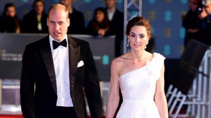 Keanggunan Kate Middleton dalam Balutan Gaun Putih Saat Hadiri BAFTA Curi Perhatian Publik