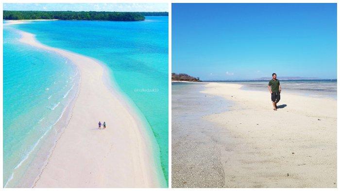 4 Pantai di Indonesia ini Menawarkan Sensasi Berjalan di Laut yang Terbelah Seperti Zaman Nabi Musa