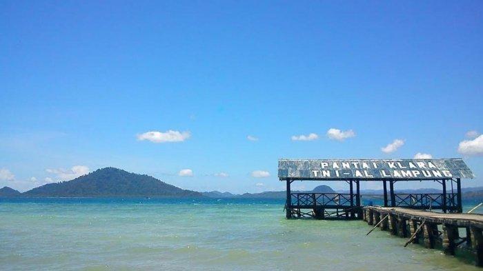 Wisata Lampung - Liburan di Bandar Lampung, Mampir ke Pantai Klara yang Hadirkan Suasana Tenang