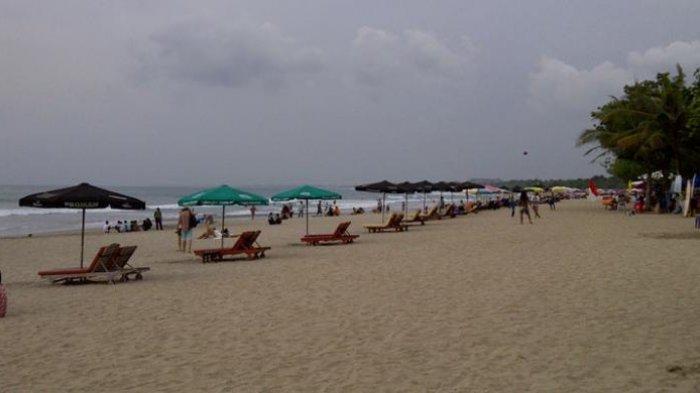 Hari Lahir Pancasila, Wisata Pantai Kuta Bali Sepi Pengunjung