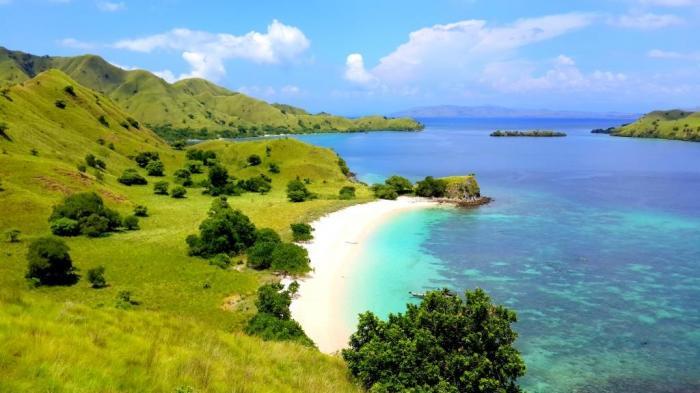 Pantai Namo NTT - Rahasia! Selain Pink Beach, Inilah Pantai Berpasir Merah Muda di Pulau Komodo