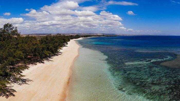 TRAVEL UPDATE: Mengenal Pulau Paskah, Pulau Baru yang Muncul Setelah Badai Seroja di Rote Ndao NTT