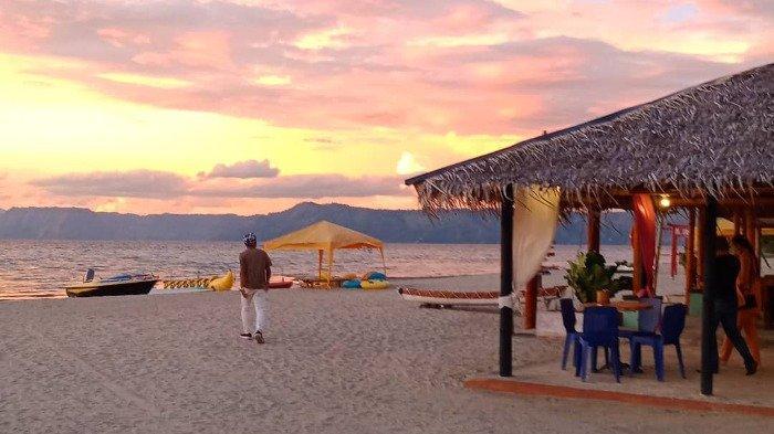 Pesona Pantai Sigurgur, Spot Wisata Favorit di Pulau Samosir untuk Nikmati Senja