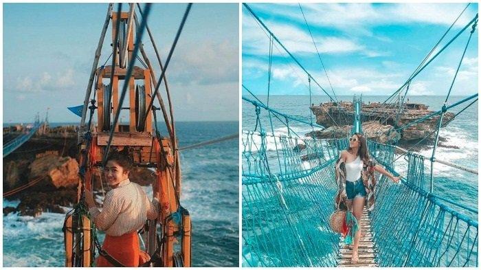 Pesona Pantai Timang Tempat Wisata Di Jogja Yang Pernah Jadi Lokasi Syuting Running Man Halaman All Tribun Travel