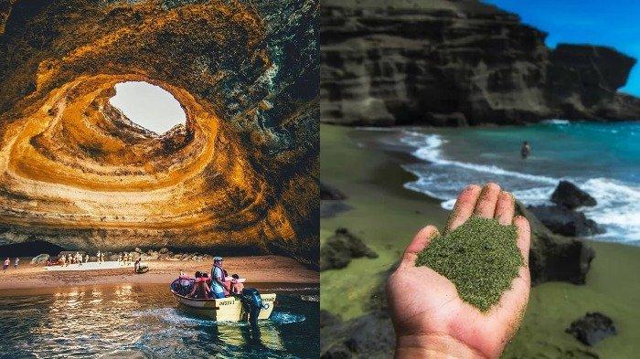 15 Pantai Paling 'Tak Biasa' di Dunia, Ada yang Punya Pasir Hijau sampai Mampu Bersinar dalam Gelap