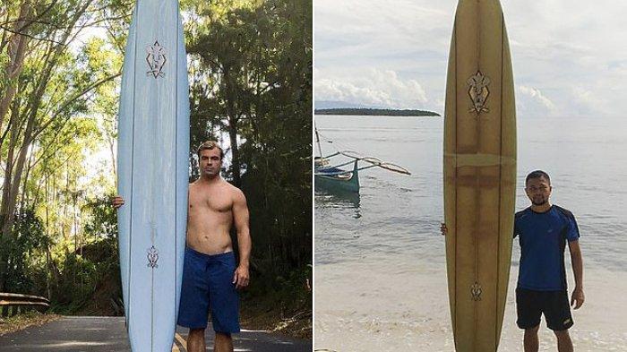 Papan Selancar Hilang di Hawaii Ditemukan di Filipina Setelah 6 Bulan