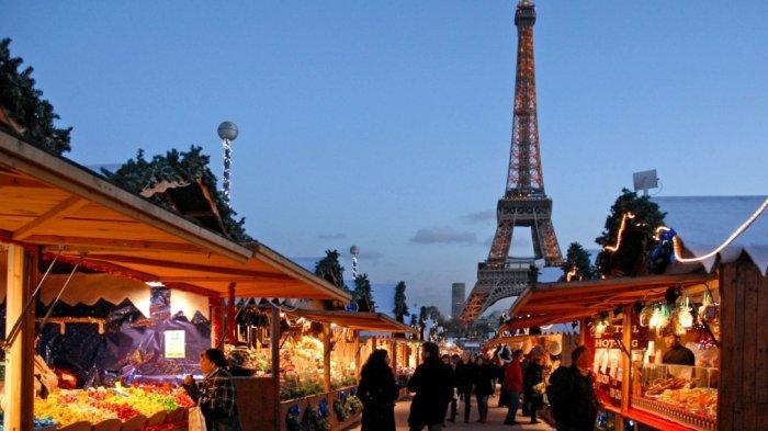 Street food di Paris, Perancis.
