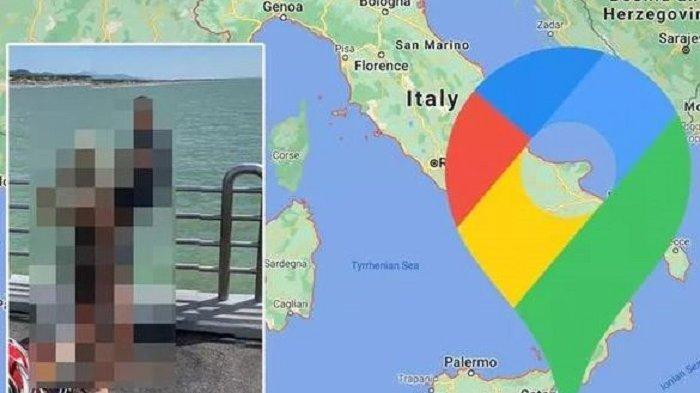 Terekam Google Maps, Pasangan Ini Terjebak dalam Posisi yang Aneh