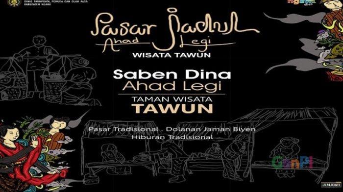 Buka Hari Ini, Pasar Jadul Ahad Legi Jadi Pasar Digital Pertama di Ngawi