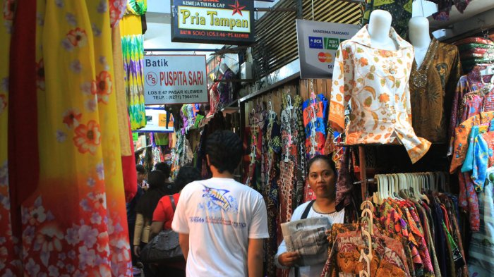 5 Sentra Batik Murah di Jawa, Pasar Klewer Sudah Ada Sejak Zaman Penjajahan Belanda
