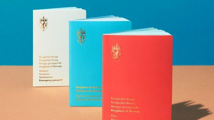 Norwegia Rilis Paspor Baru, Disebut-sebut Sebagai Paspor Paling 'Stylish' di Dunia
