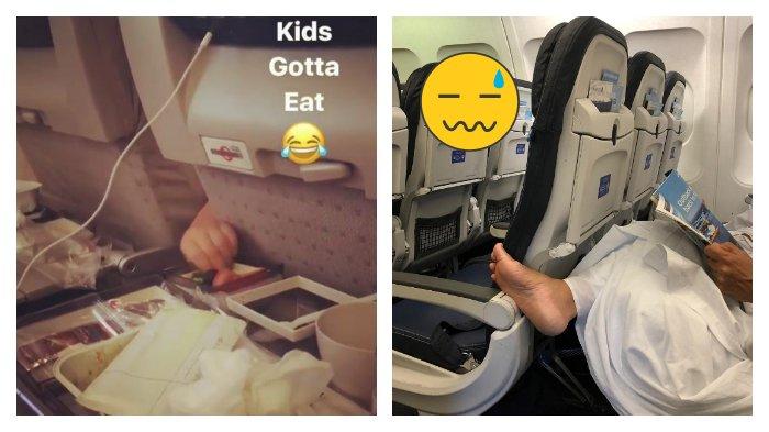 Potret Penumpang Pesawat yang Memiliki Kelakuan Tak Menyenangkan, Yakin Mau Duduk di Samping Mereka?
