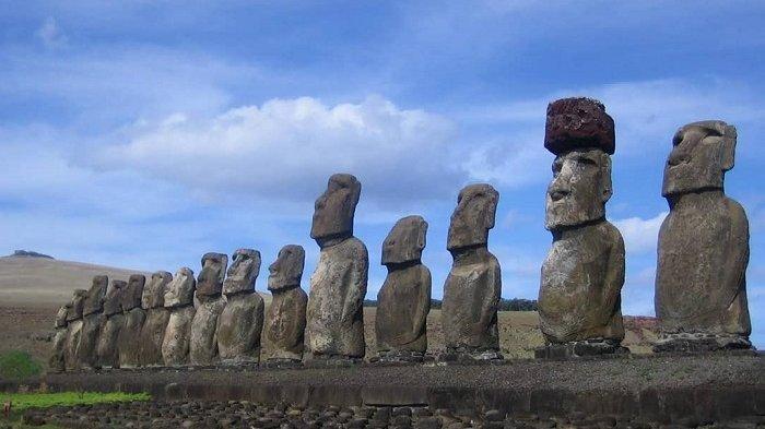 Moai, Pulau Paskah
