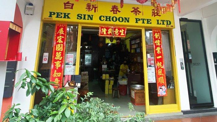 Pek Sin Choon, toko teh yang buka sejak 1925