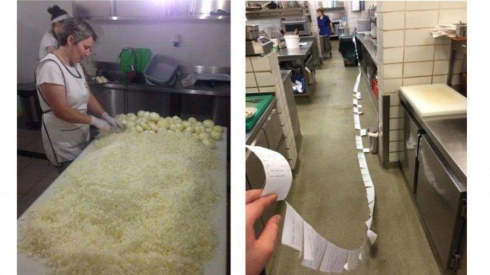 9 Foto Ini Perlihatkan Perjuangan Keras Staf Dapur Restoran, Harus Cepat namun Tetap Hat-hati