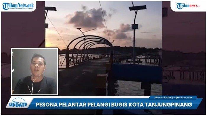 TRAVEL UPDATE: Intip Indahnya Pelantar Pelangi, Tempat Wisata Baru di Kota Tanjungpinang