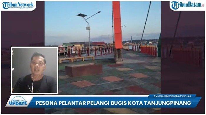 Laporan Wartawan TribunBatam, mengenai Pelantar Pelangi