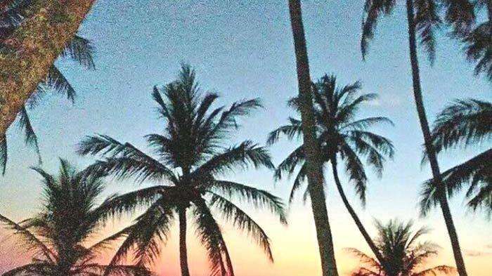 Keindahan Sunrise Pantai Sumur Tiga, Pulau Weh jadi Daya Tarik Wisatawan
