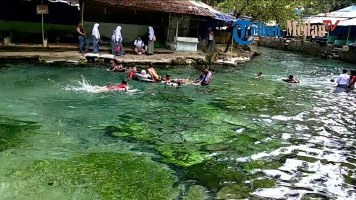 Jelajah Pemandian Alam Karang Anyer, Wisata Air di Tengah Pemukiman Warga