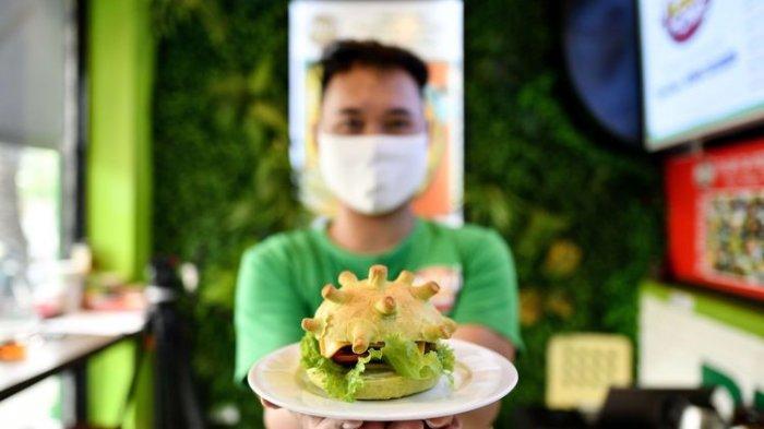 Potret Makanan Bertema Covid-19 di Berbagai Negara, Termasuk Bakso Aci Virus Corona dari Surabaya