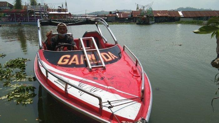 Wisata Air di Klaten, Coba Serunya Wahana Baru Speed Boat di Rawa Jombor
